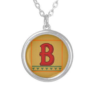 Initial Italian Red Letter Custom Jewelry