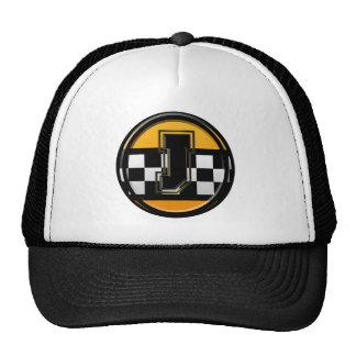 Initial J taxi driver Cap