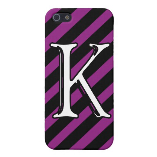 Initial K Cover For iPhone 5
