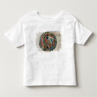 Initial letter 'O' Osculatur me - Let me kiss Toddler T-Shirt