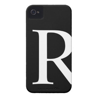 Initial R iPhone 4/4S Barely There Case