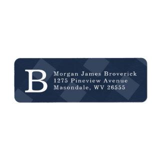 Initial return address label
