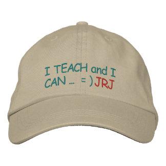 "Initial Your ""Teachers CAN"" Cap - SRF Baseball Cap"