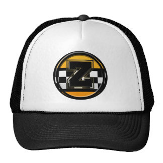 Initial Z taxi driver Mesh Hats