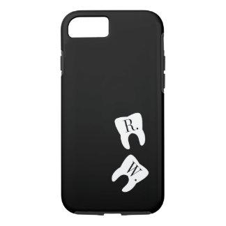 Initialed Teeth Dentistry Symbol Custom iPhone 8/7 Case