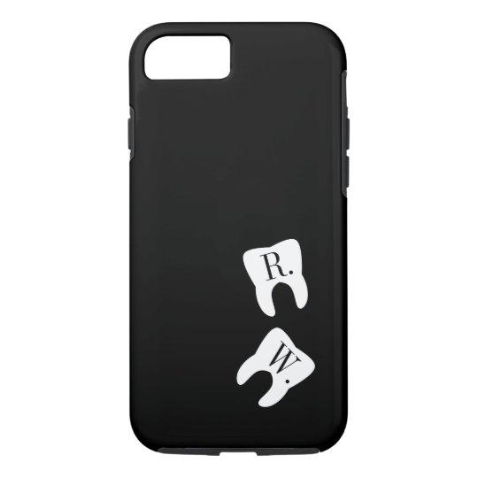 Initialled Teeth Dentistry Symbol Custom iPhone 7 Case