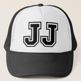 "Initials ""JJ"" Monogram Trucker Hat"