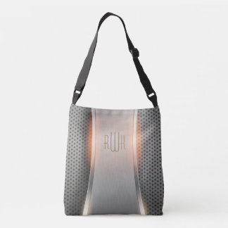 Initials | Men's Professional Personalize Gifts Crossbody Bag