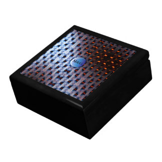 Initials Pattern Gift Box