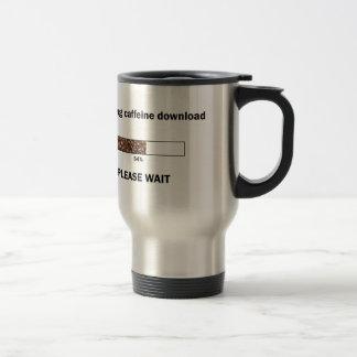 Initiating Caffeine Download Stainless Steel Travel Mug
