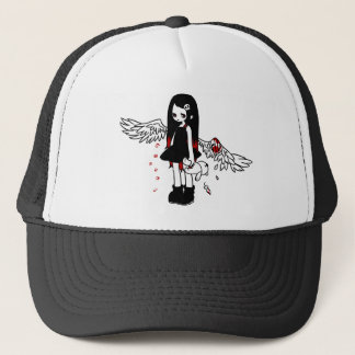 Injury angel trucker hat