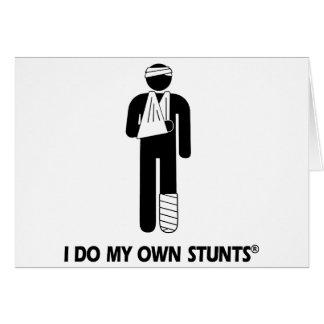 Injury My Own Stunts Card