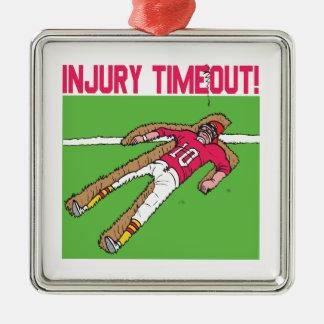 Injury Timeout Christmas Ornament