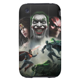 Injustice: Gods Among Us iPhone 3 Tough Covers