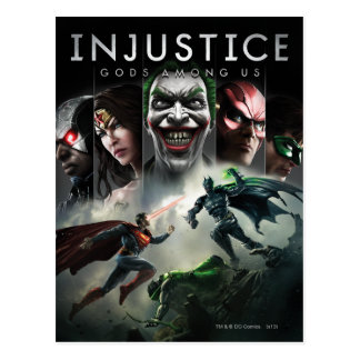 Injustice: Gods Among Us Postcard