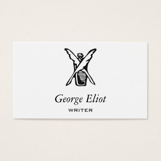 Ink and Quill Business Card