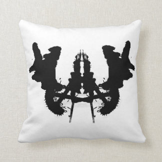 ink blot - blot 3-(u-K) BLANK Cushion