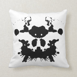 ink blot - blot 6-(f-K) BLANK Cushion