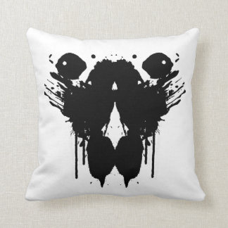 ink blot - blot 7-(b-K) BLANK Cushion