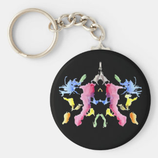 Ink Blot Keychain #10