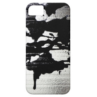Ink Blot on silver Case For The iPhone 5