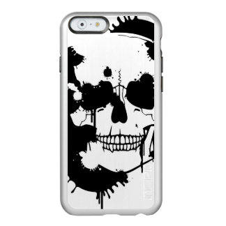 Ink Blots Creating A Skull Silhouette Incipio Feather® Shine iPhone 6 Case