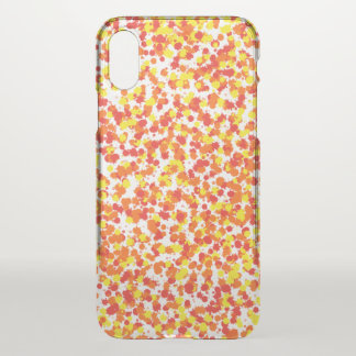 Ink Blotted Background by Shirley Taylor iPhone X Case