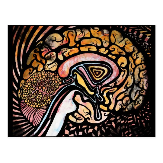 Ink Brain Postcard