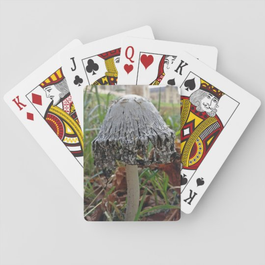 Ink cap playing cards