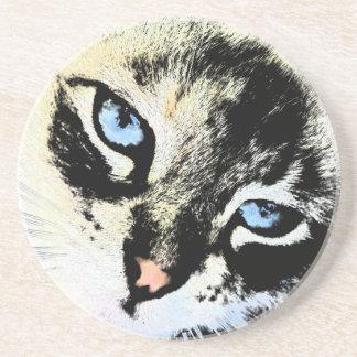 Ink Cat Coaster