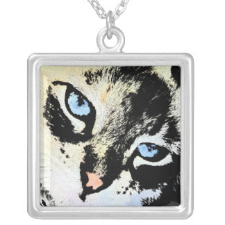 Ink Cat Necklace