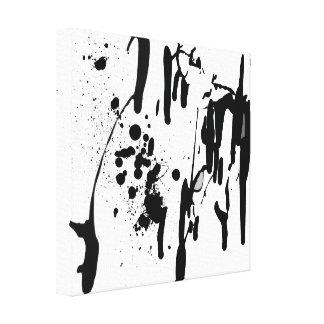 Ink Drops Canvas Prints