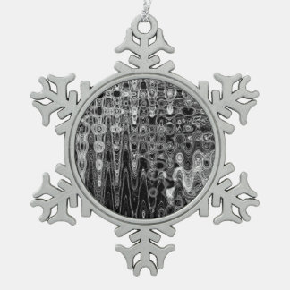 Ink & Echo I Pewter Snowflake Ornament
