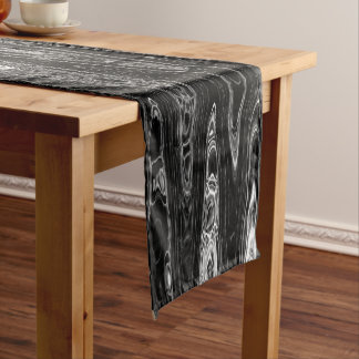 Ink & Echo I Table Runner by Artist C.L. Brown