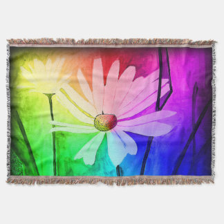 Ink Flowers Blanket (Change color in customize!)