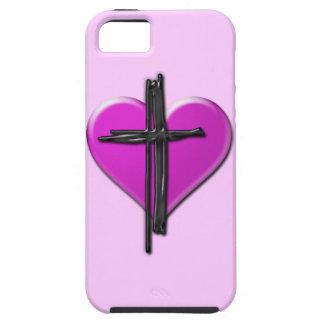 Ink Heart & Cross Case