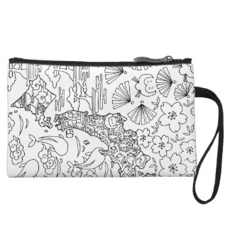 Ink: JAPAN Cosmetic Bag/Mini Clutch