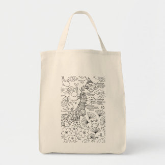 Ink: JAPAN Tote Bag