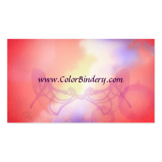 Ink Papered Artistic Business Card
