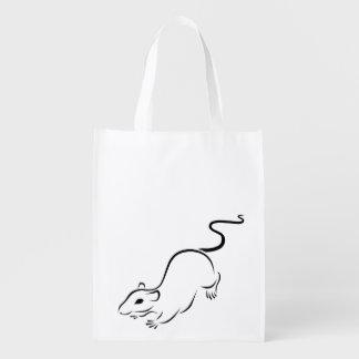 Ink Rat Reusable Grocery Bag