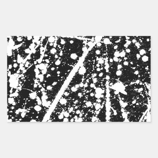 ink splash illustration sticker