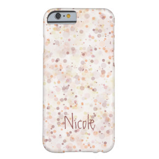 Ink Splashes Barely There iPhone 6 Case
