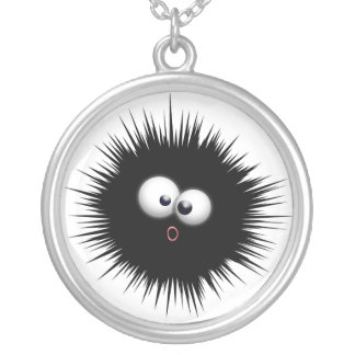 Ink Splat Cartoon Necklace