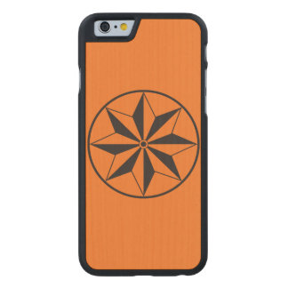Ink Star Carved® Maple iPhone 6 Slim Case