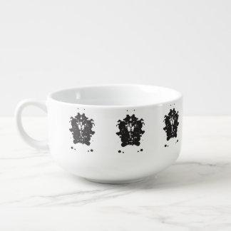 Inkblot Pharaoh Soup Mug
