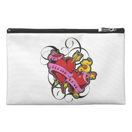 inked love travel accessories bag