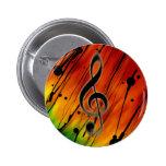 Inked Music Pin