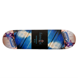 Inked skate board fanatic