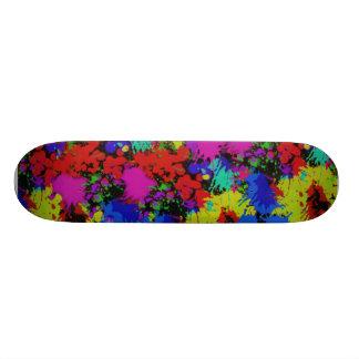 InkSpatter Skateboard