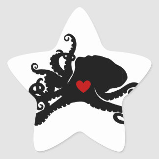 Inky Poo Logo Products Star Sticker